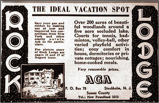 File:AGA Rock Lodge Newspaper Ad 1940s jpeg - Wikimedia Commons