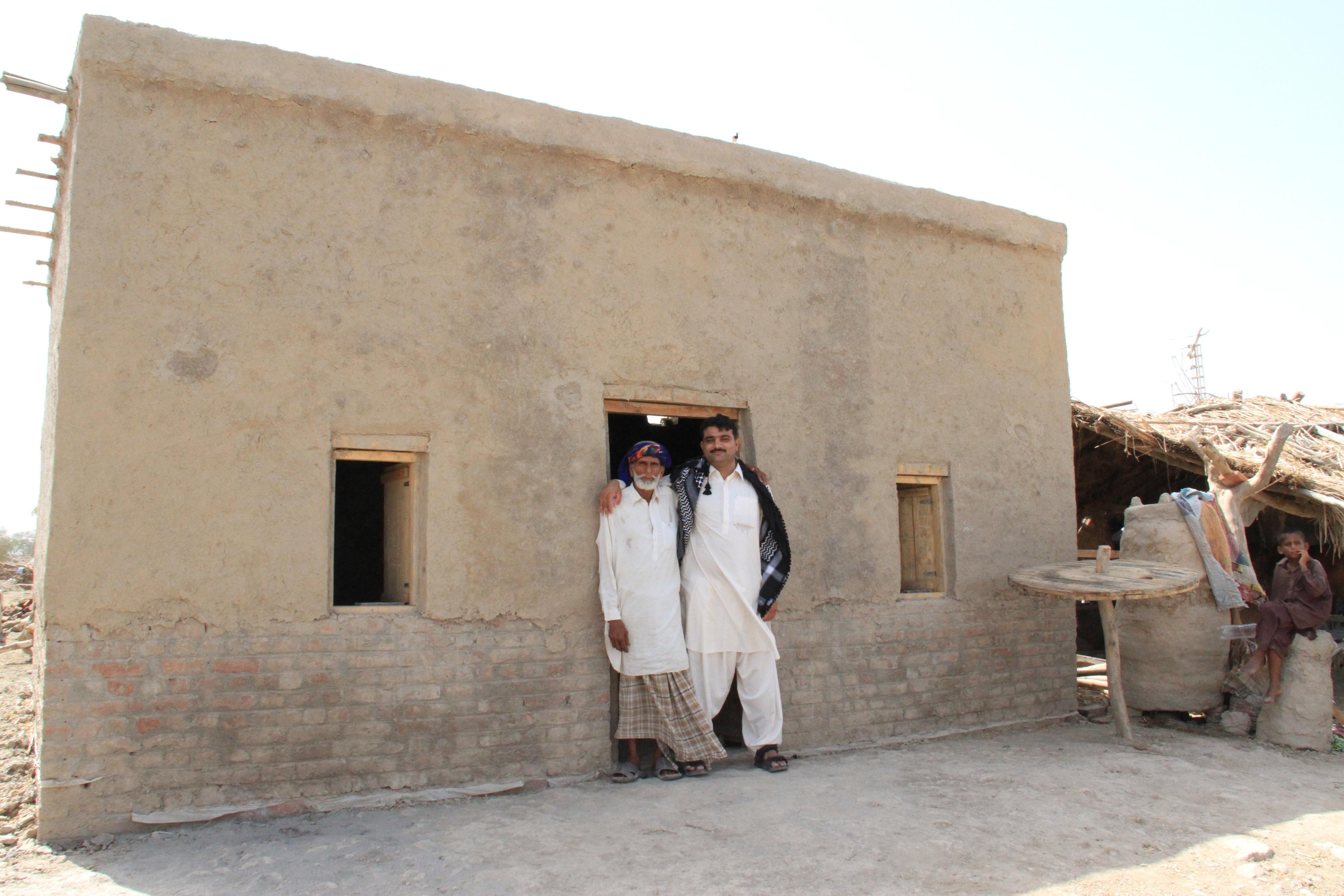 Kitchen In A Pakistan Mud Home