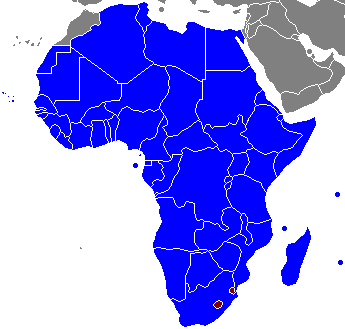 African Union Map.File African Union Member States By Head Of State Png
