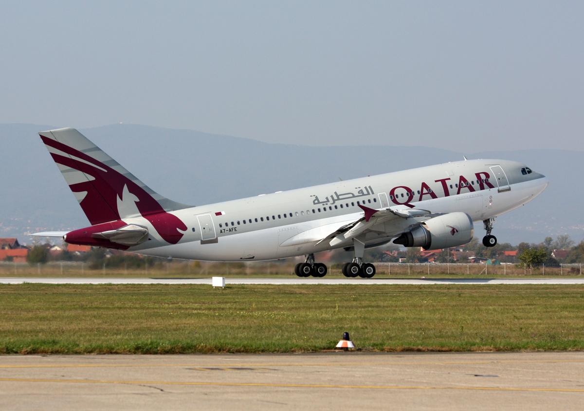 File Airbus A310 308 Qatar Airways Qatar Amiri Flight A7 Afe Zagreb Pleso 05 10 2009 03 Jpg Wikimedia Commons