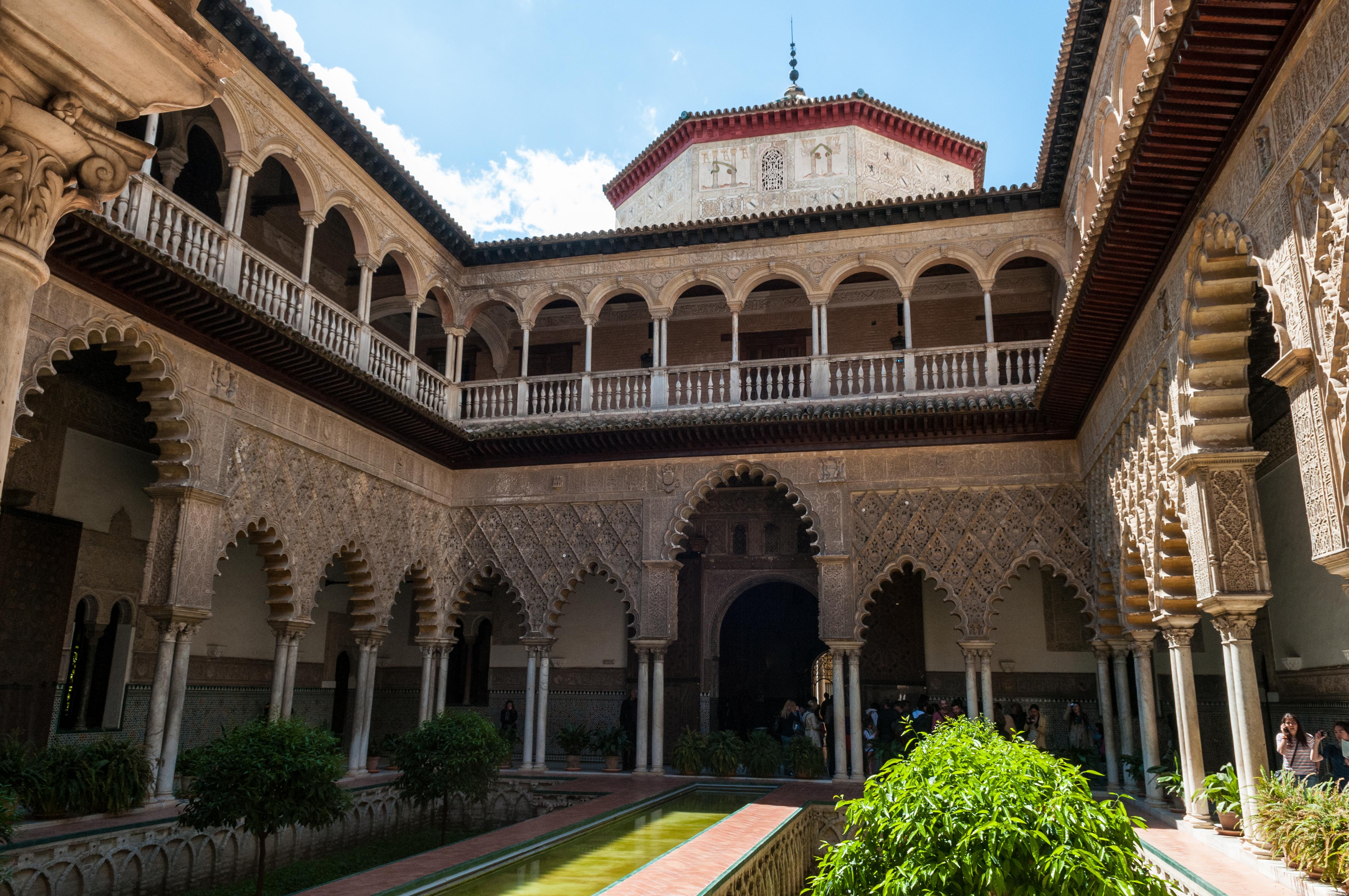 File:Alcázar of Seville (7077893783).jpg - Wikimedia Commons