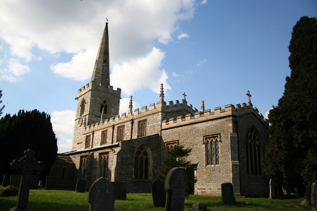 All Saints' church, Weston - geograph.org.uk - 149955