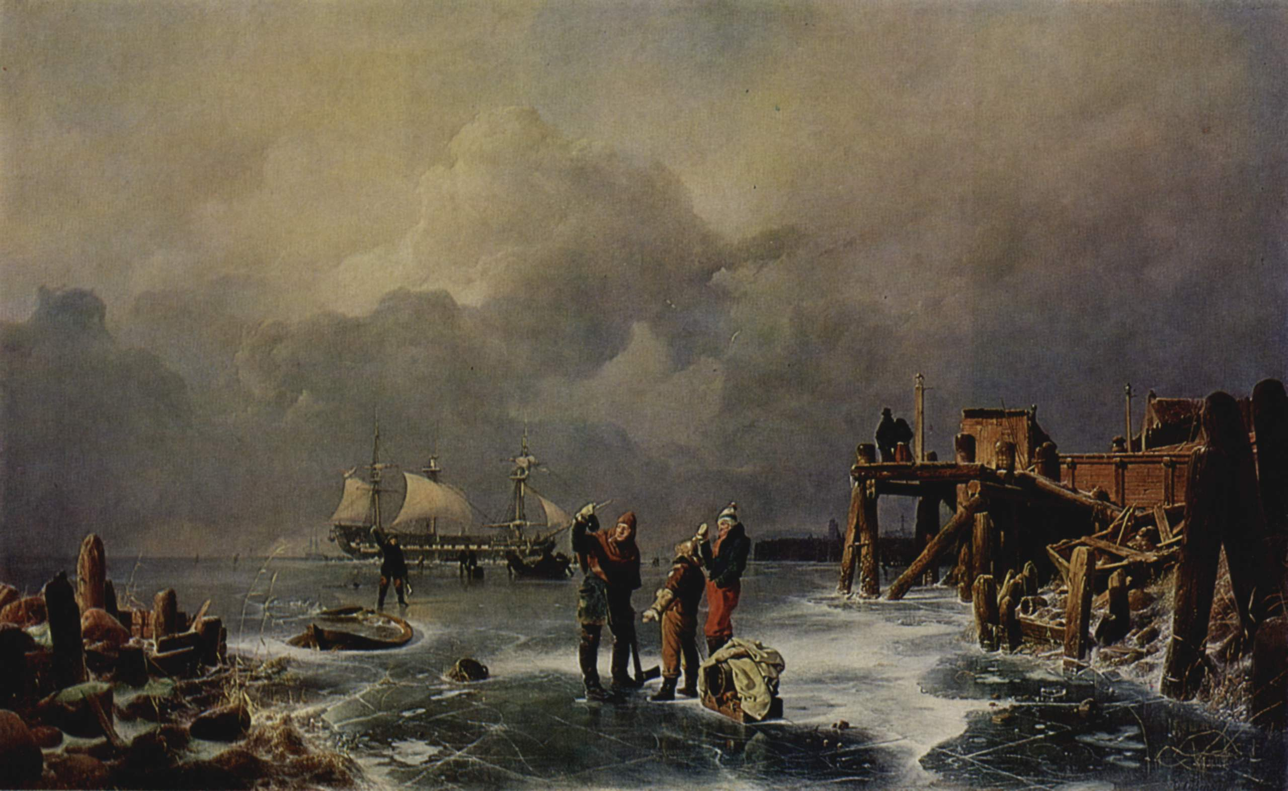Landschaftsmalerei realismus  Andreas Achenbach – Wikipedia
