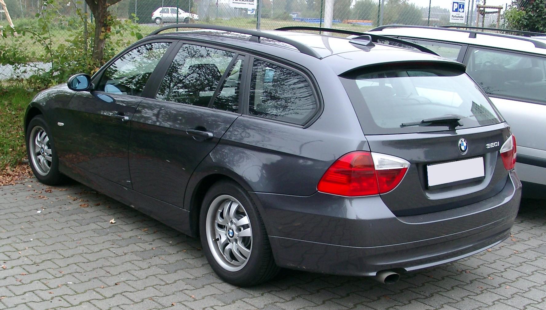Bmw E90 Wiki >> File:BMW E90 Kombi rear 20071012.jpg - Wikimedia Commons