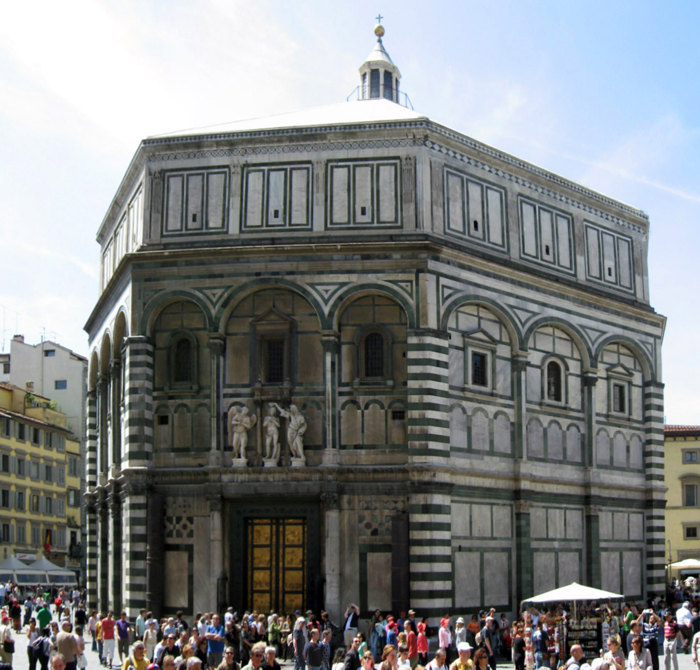 The Baptistry of St. John in Florence.