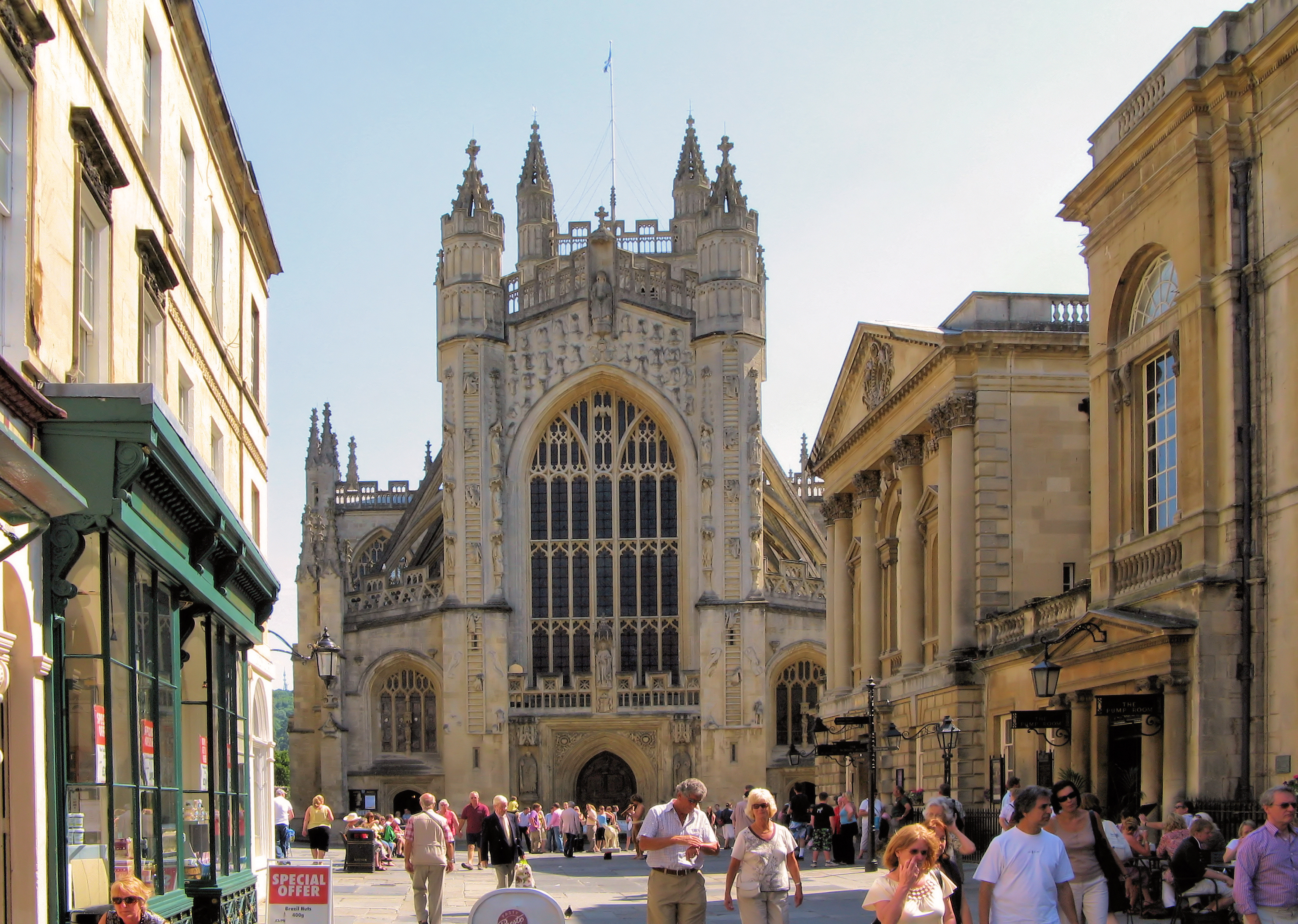 Bath Abbey & The Roman Baths & The Pump Room