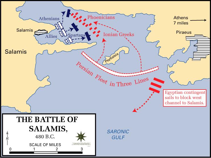 サラミスの海戦/wikipediaより引用