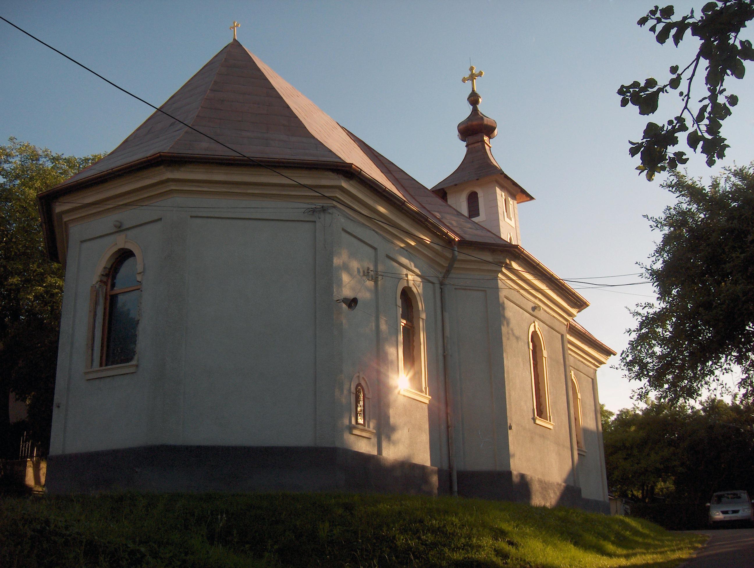 Fişier:Biserica Ortodoxa din Deal Cluj.JPG