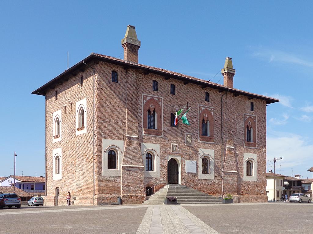 Borghetto Lodigiano - palazzo Rho.JPG
