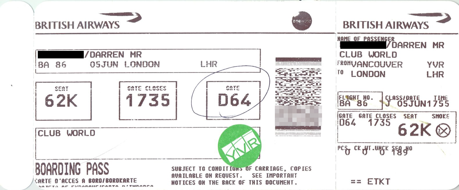 Boarding Pass Meaning And Definition