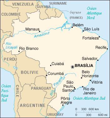 Géographie Du Brésil Wikipédia