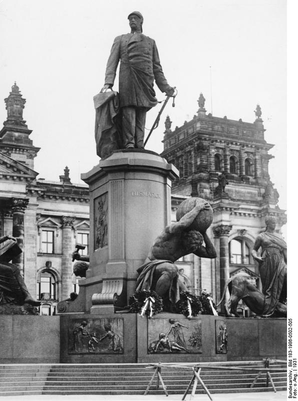 Bismarck Denkmal Berlin Berlin Bismarck-denkmal