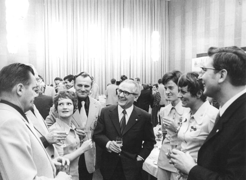 Auszeichnung Olympiateilnehmer DDR 1972