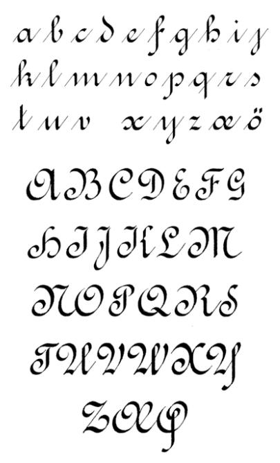 Caligrafia abecedario tattoo drawing pics