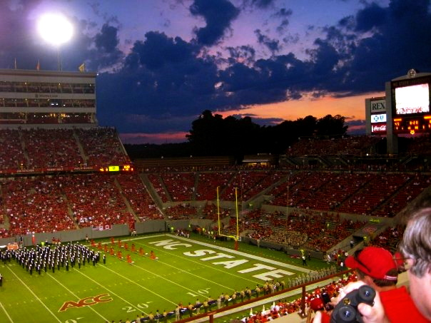carter-finley stadium amazing college stadiums