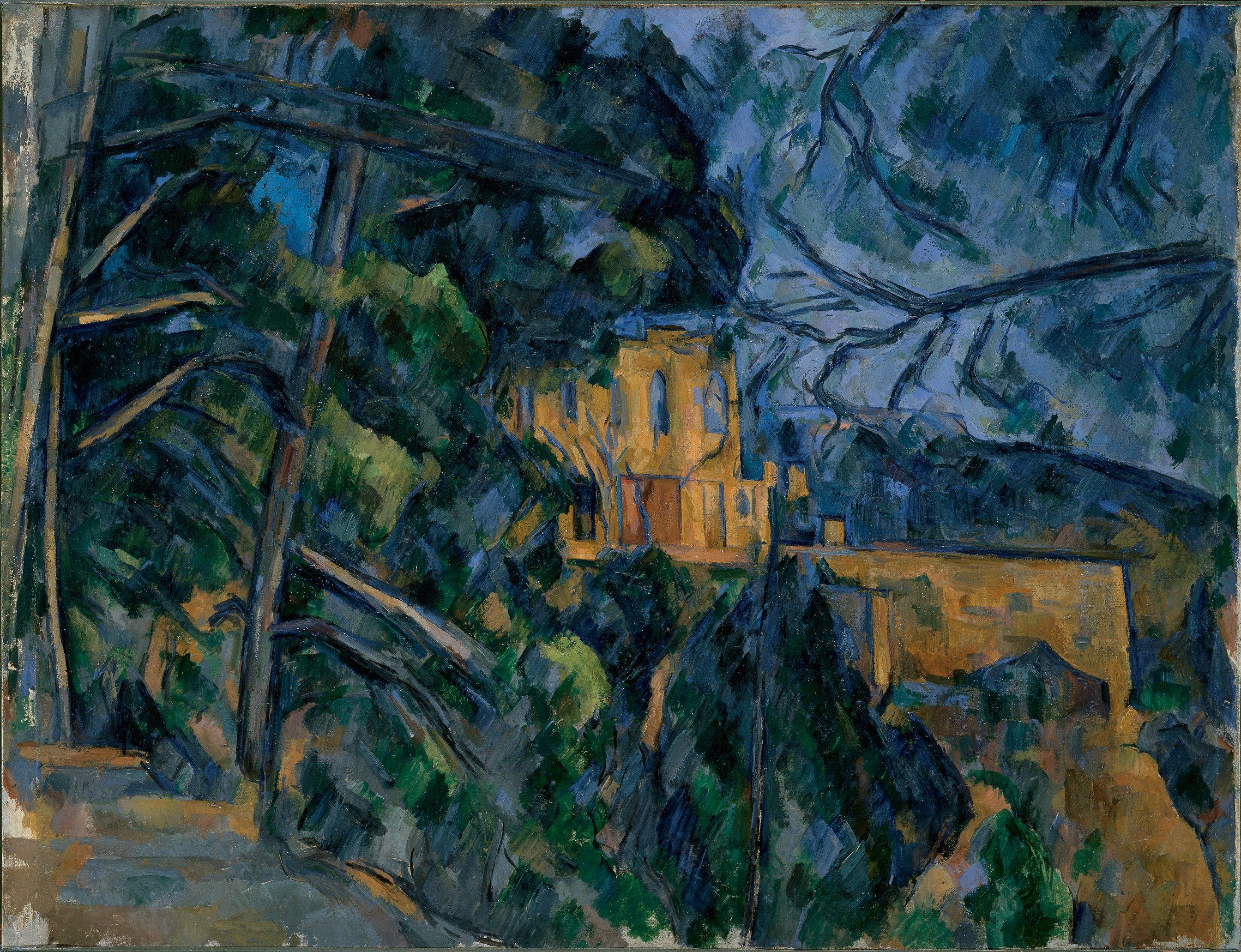 Filechâteau Noir Par Paul Cézanne National Gallery Of Art