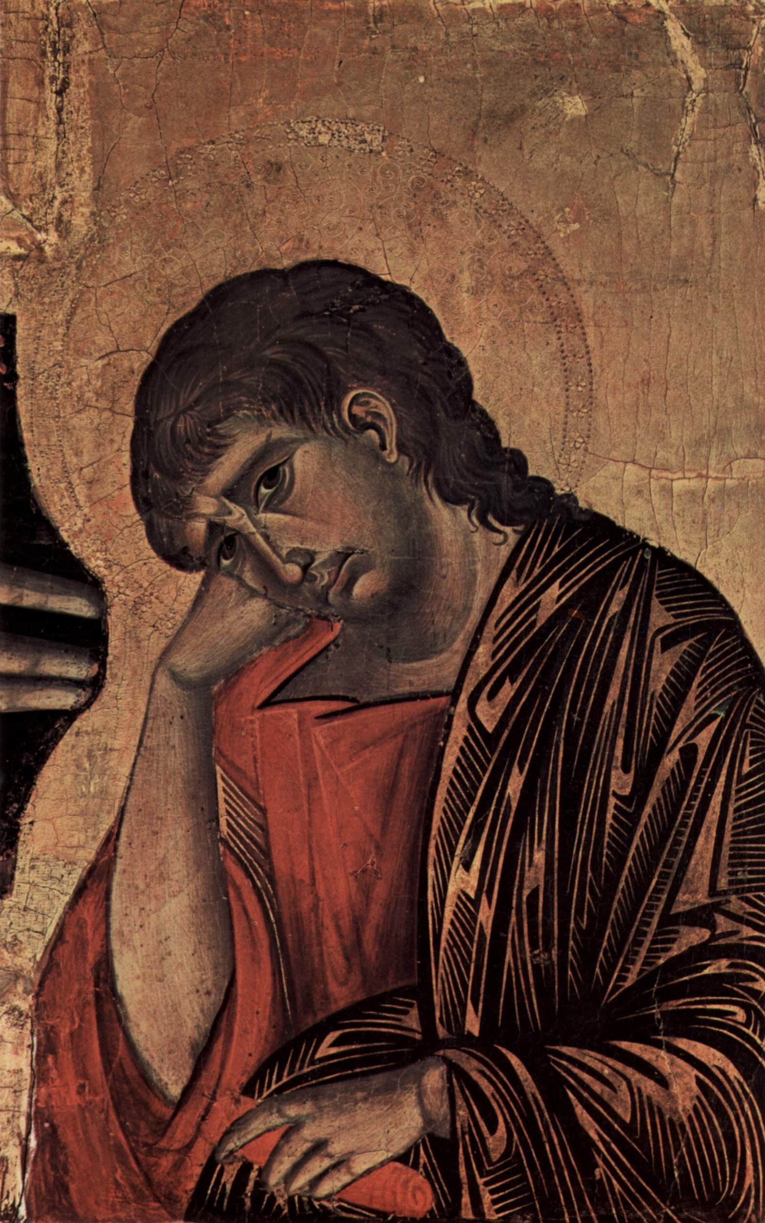 CIMABUE Crucifix, John, 1268-1271