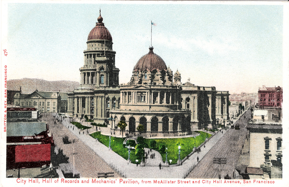 City Hall Grand Staircase - San Francisco Wedding Photography - SF ...
