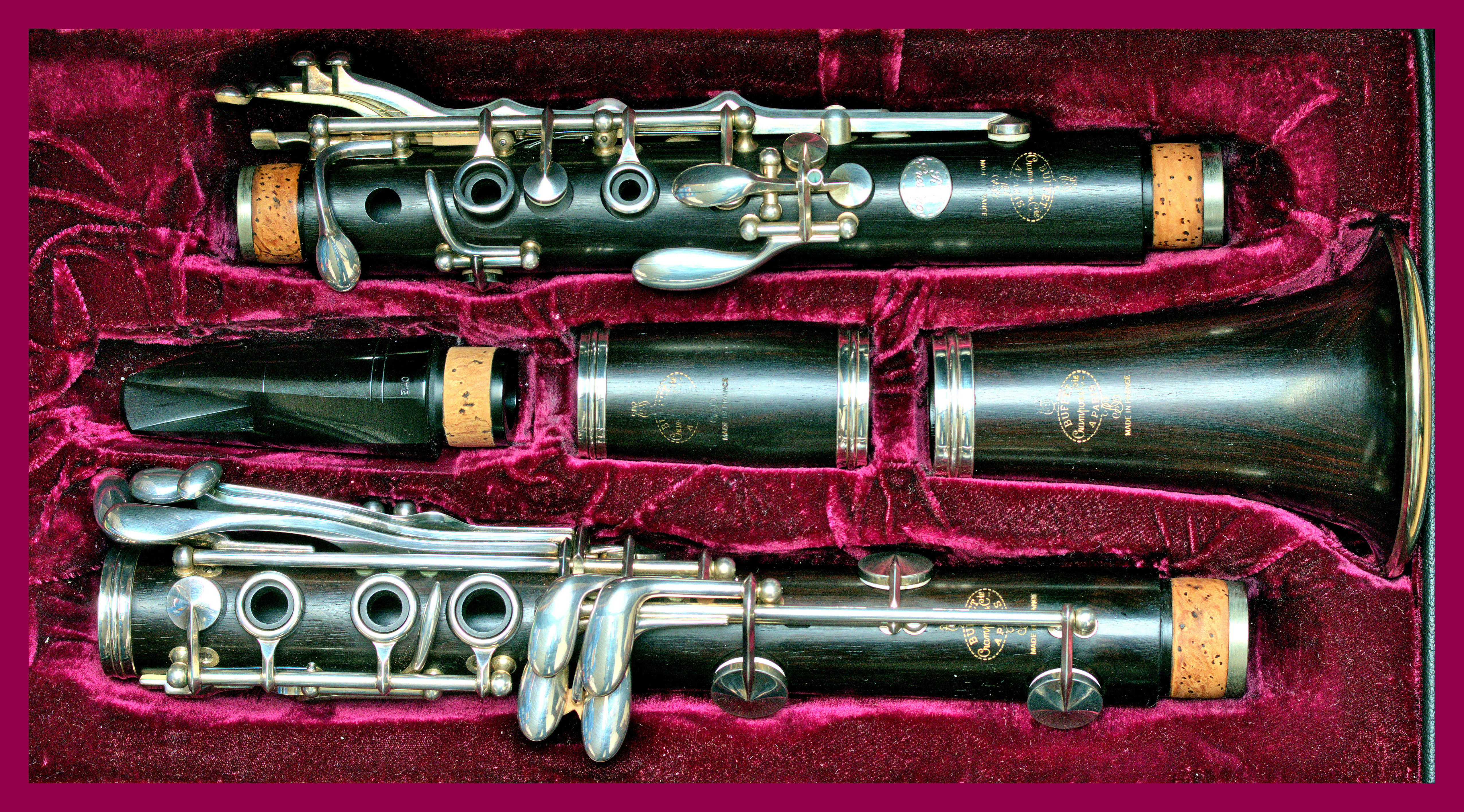 where is the serial number on a clarinet