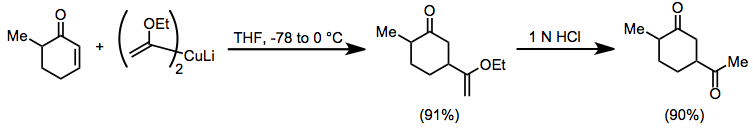 Reactions Of Organocopper Reagents Wikipedia