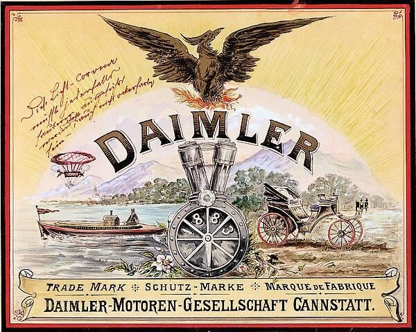 Mercedes Benz Logo >> Daimler-Motoren-Gesellschaft — Wikipédia