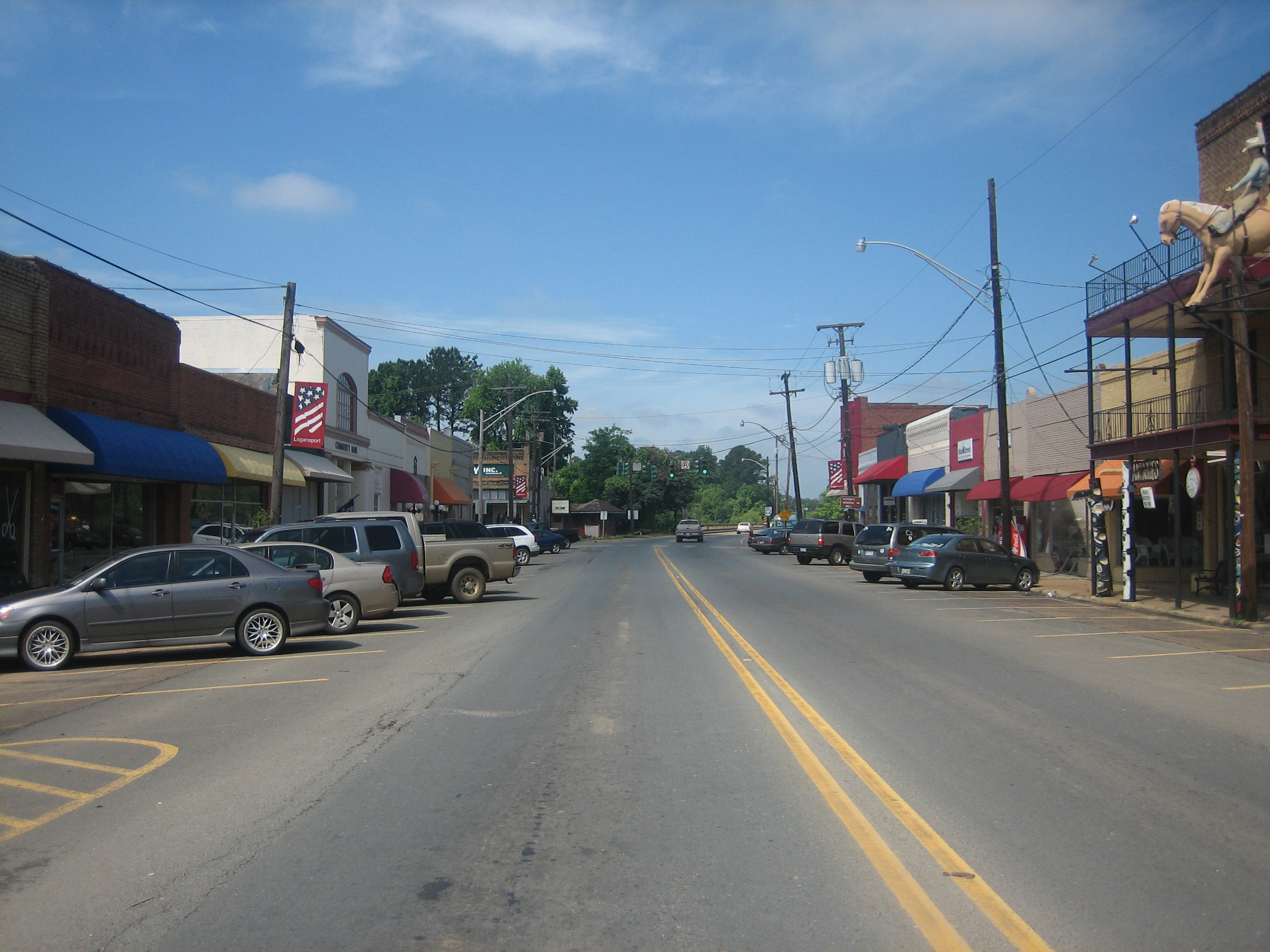 Logansport, Louisianalogansport town
