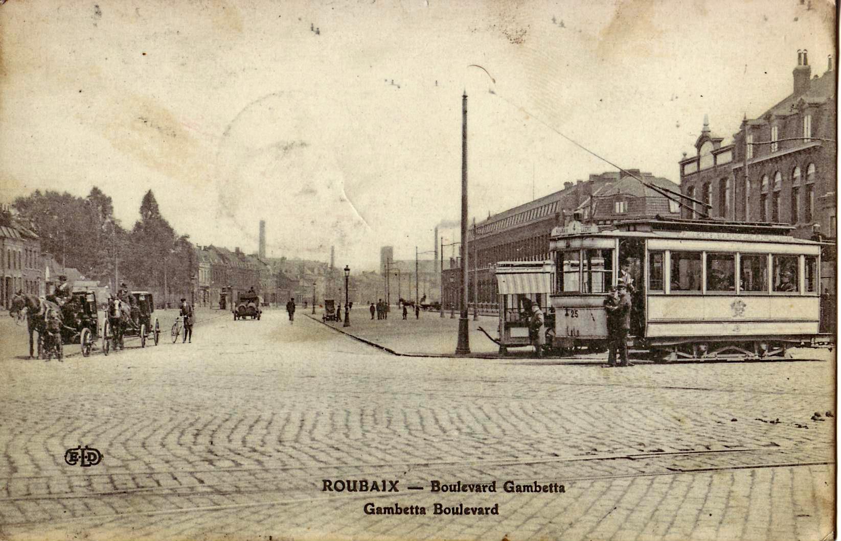 Fichier eld roubaix boulevard gambetta jpg wikip dia - Boulevard gambetta roubaix ...
