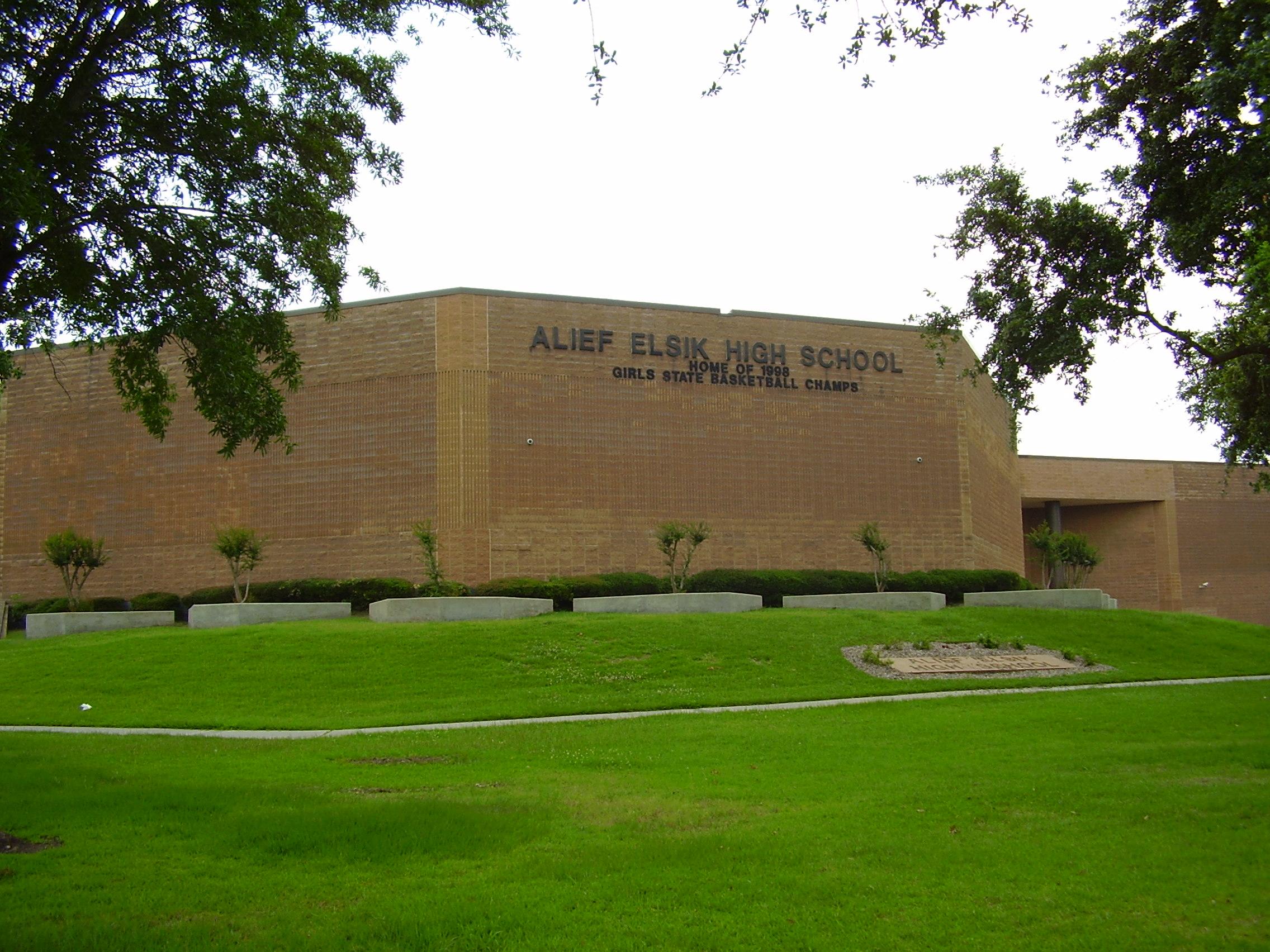 Hcc Alief Campus Map.Alief Elsik High School Wikipedia