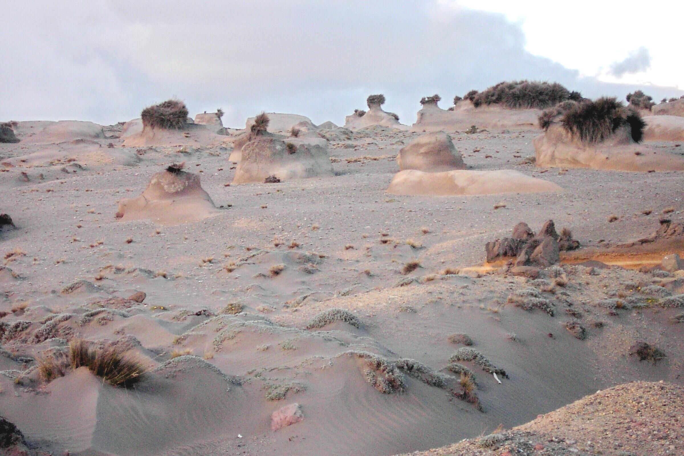 Erosión y sedimentación eólica - Wikiwand