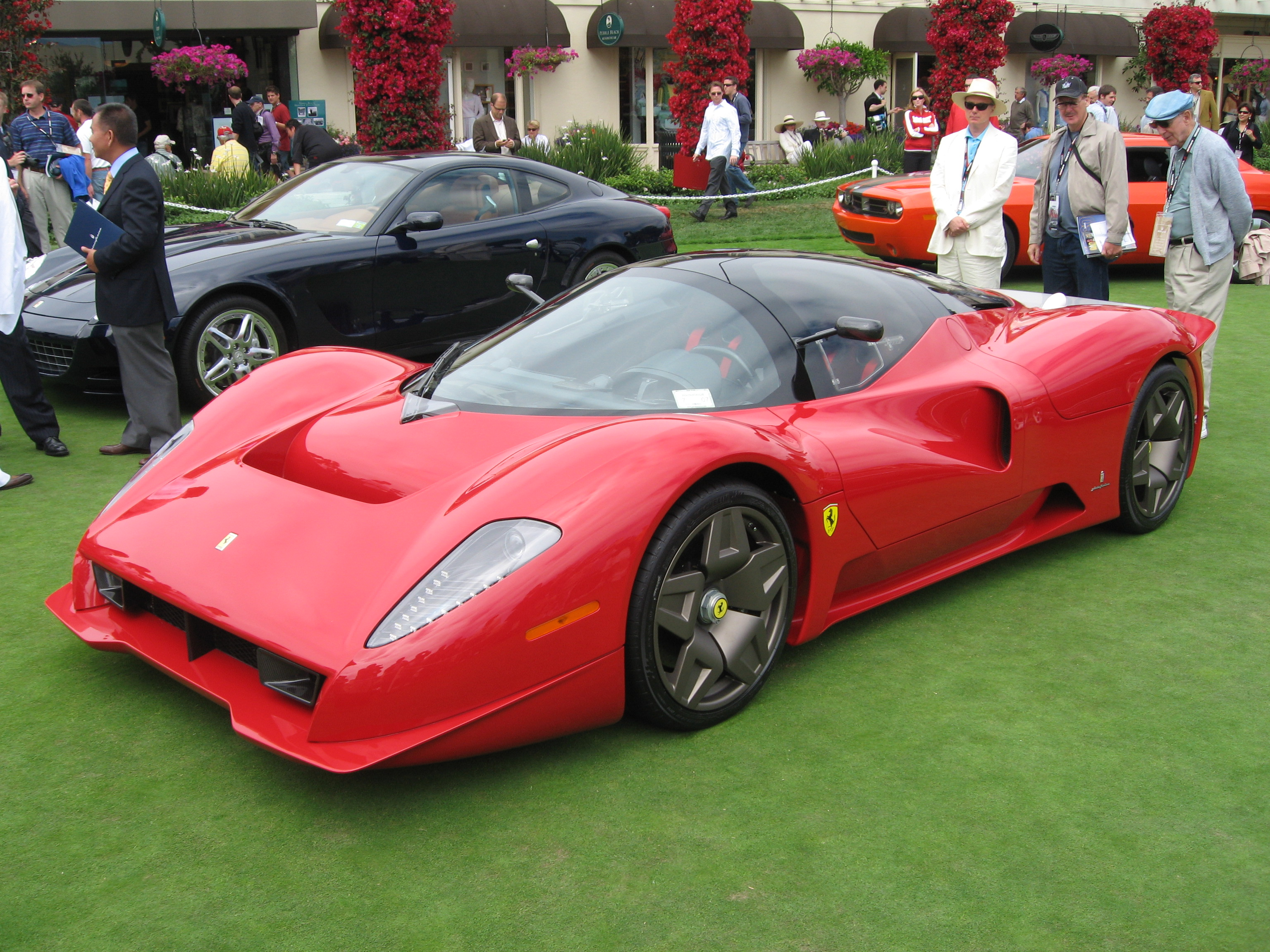 Description Ferrari P45 front right.jpg
