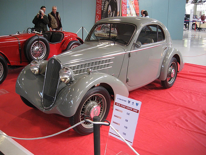 Fiat 508 Balilla S Berlinetta Mille Miglia 1935