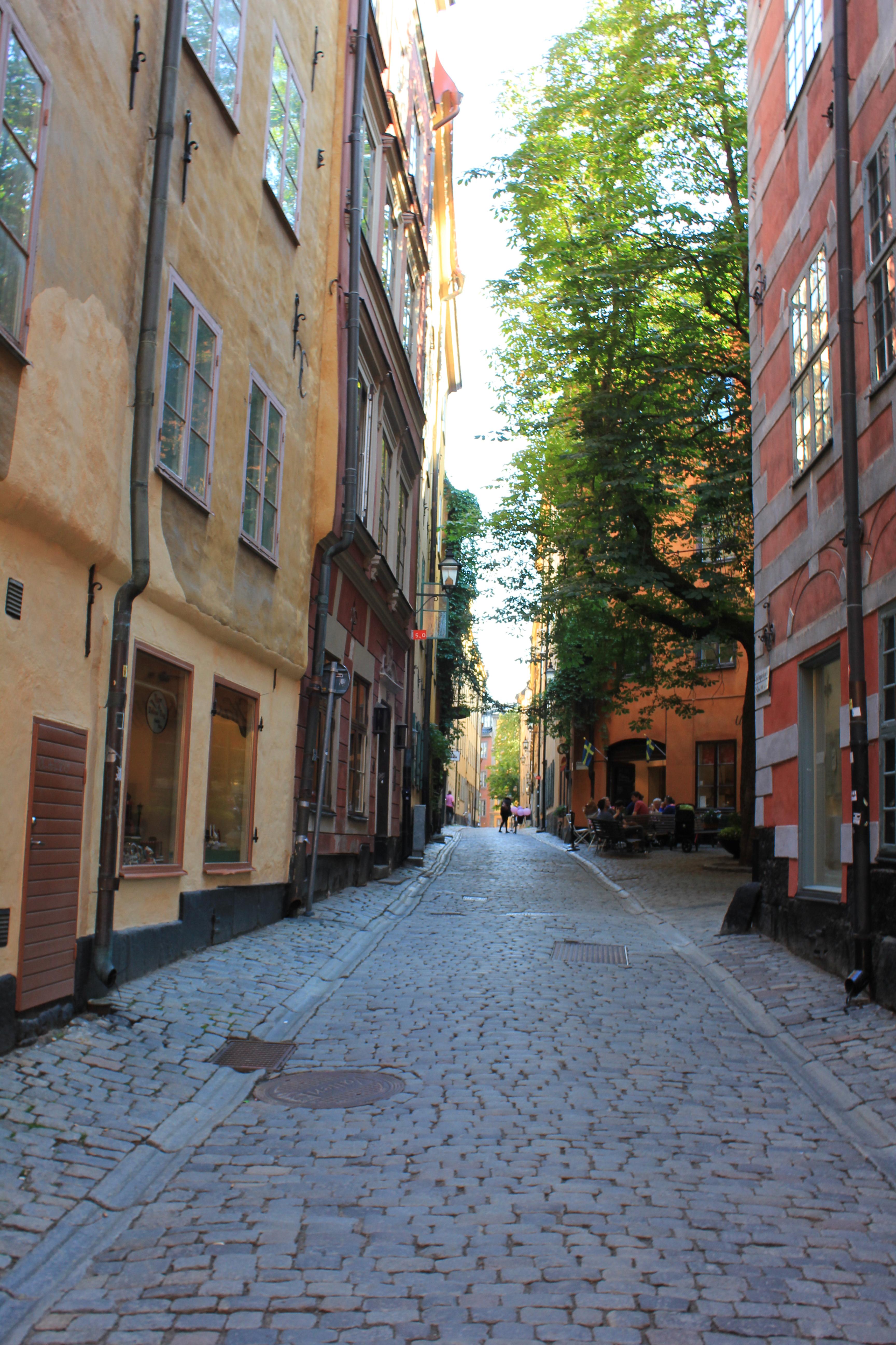 gator i stockholm
