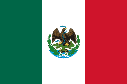Archivo:Flag of Mexico (1881).png