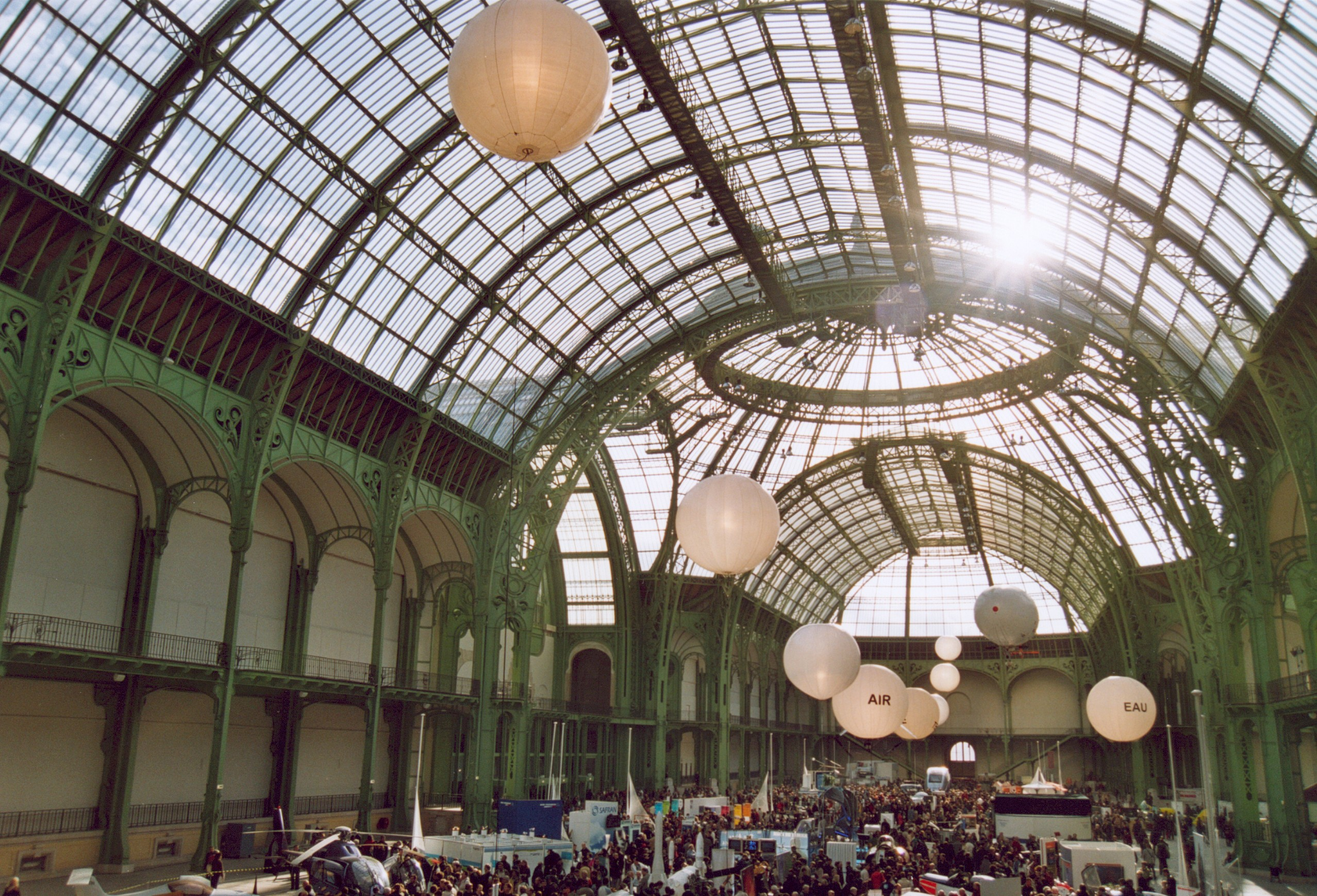 File france paris grand palais interieur for Interieur france