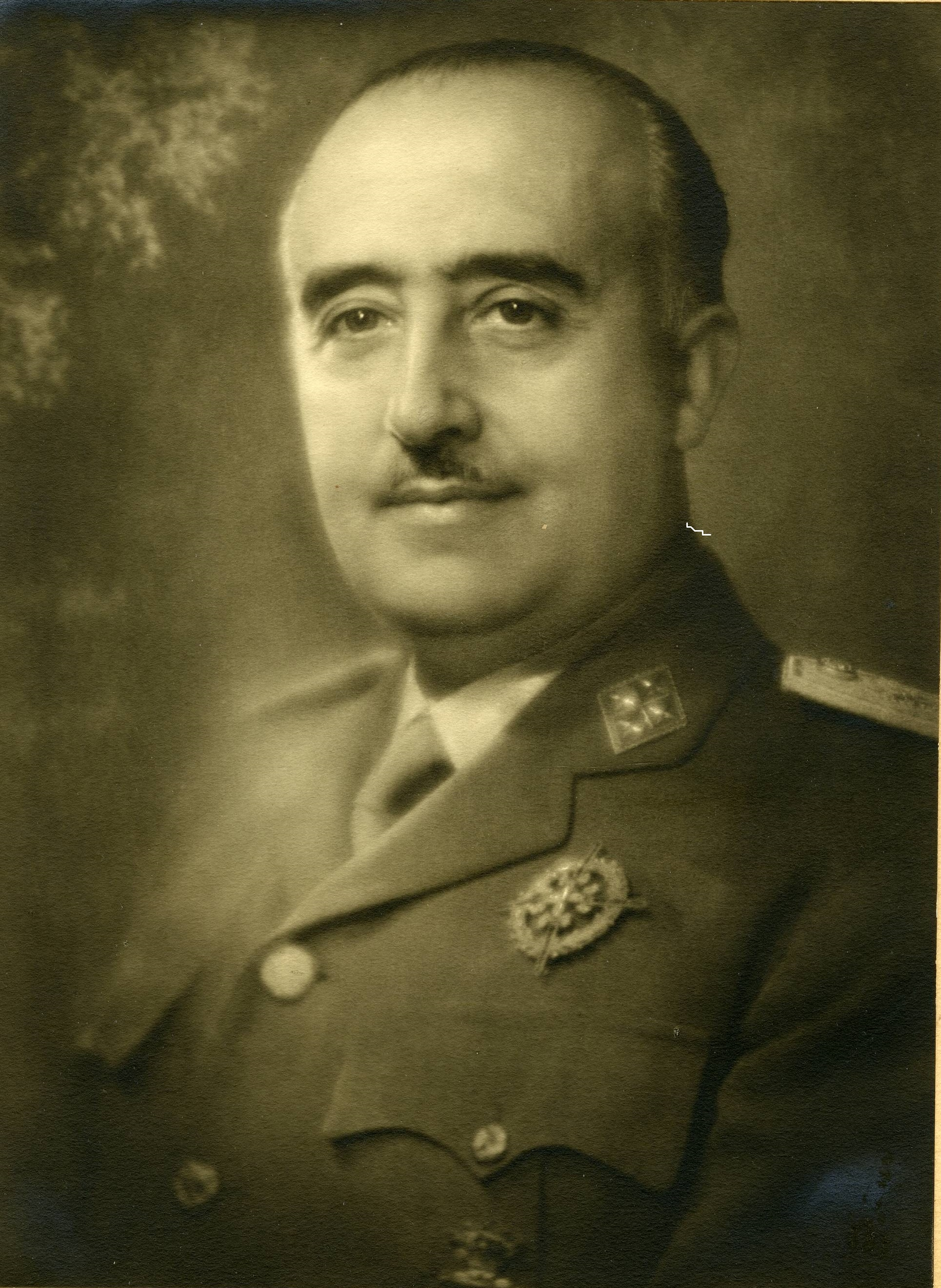 Francisco Franco en 1964.