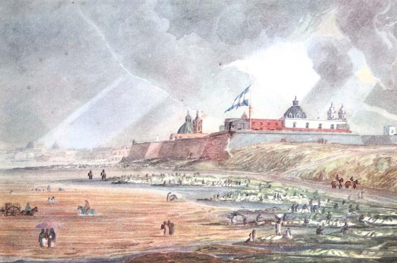 Depiction of Fuerte de Buenos Aires