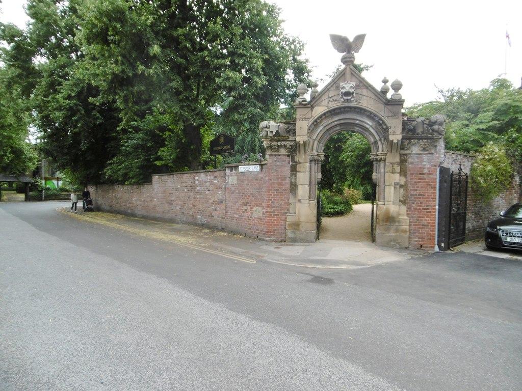 Gateway to the Old Parsonage Gardens, Didsbury.jpg