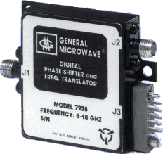 Phase shift module microwave network module