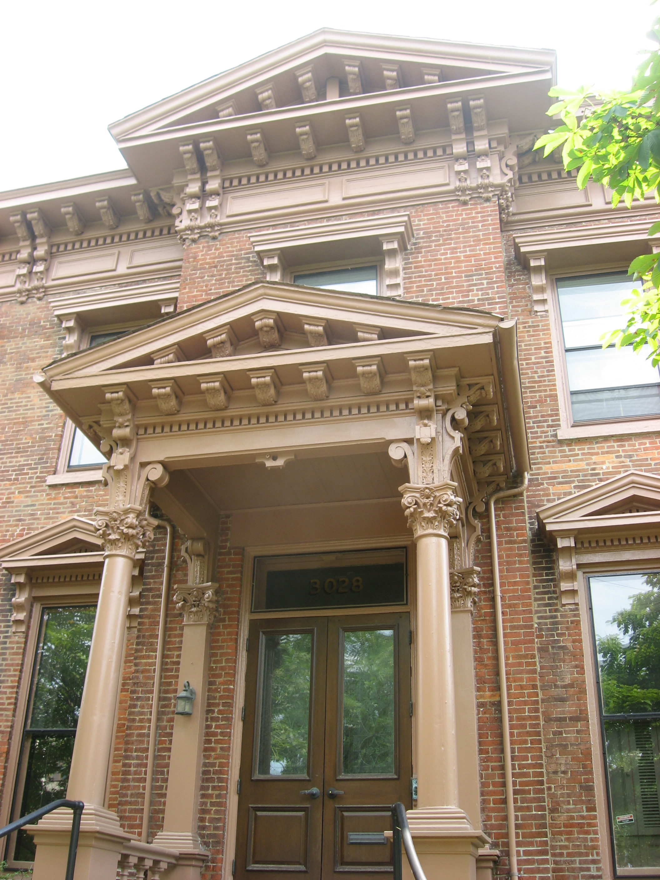 House Entrance file:george merwin house entrance - wikimedia commons