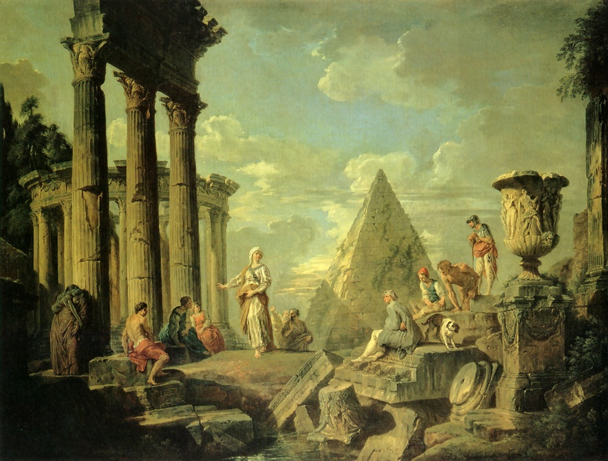 File Giovanni Paolo Pannini Sibyl And The Ruins Of Rome