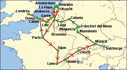 Tour Por Europa Saliendo De Ny