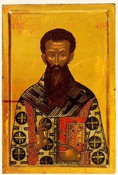 Gregorios Palamas ikonissa.