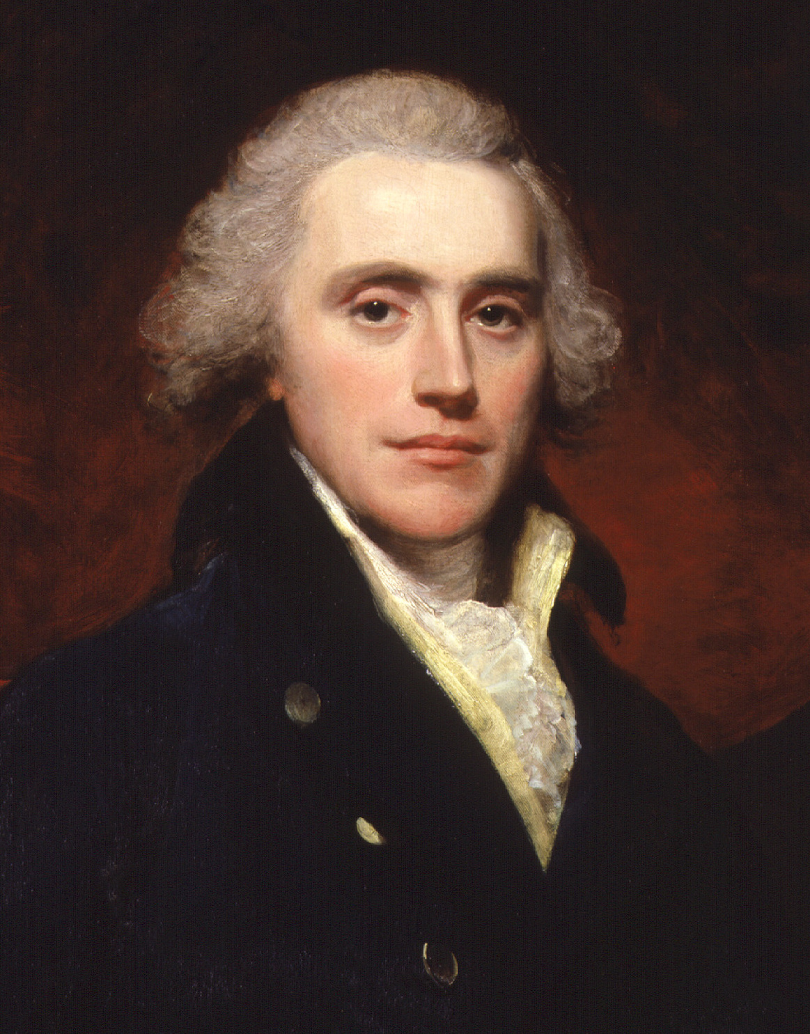 Detail of painting by [[William Beechey]]