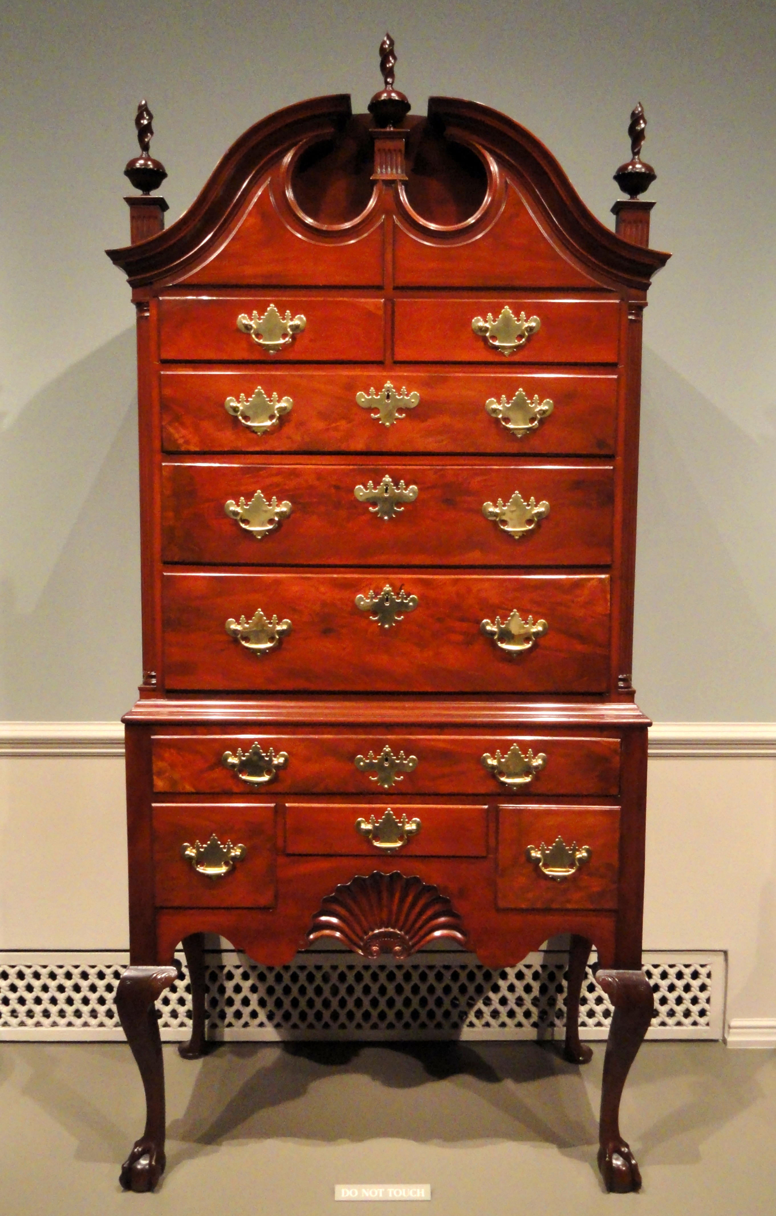 File:High Chest, Attributed To John Townsend, Newport, 1765 1770,