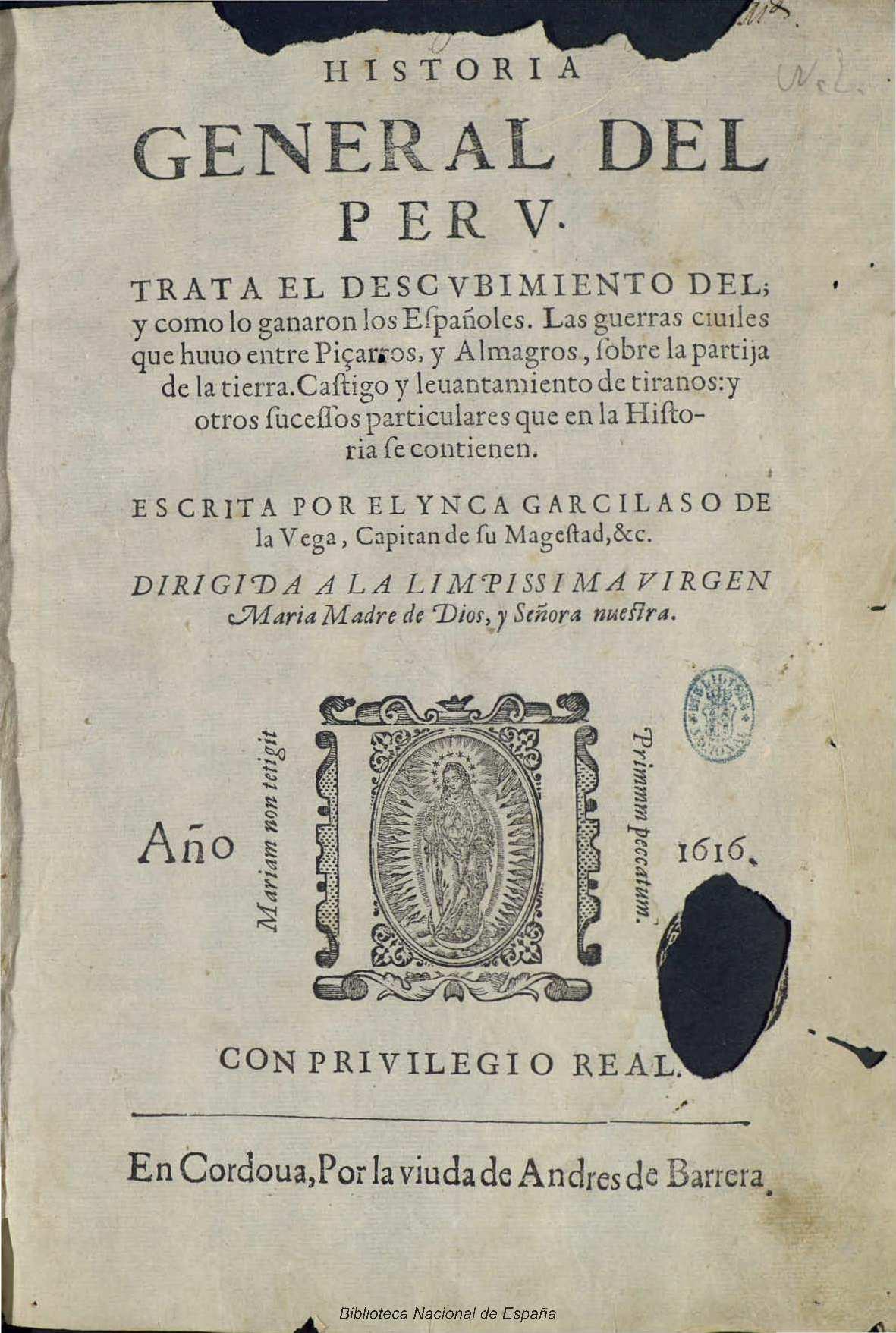 Historia General del Perú - Wikipedia, la enciclopedia libre