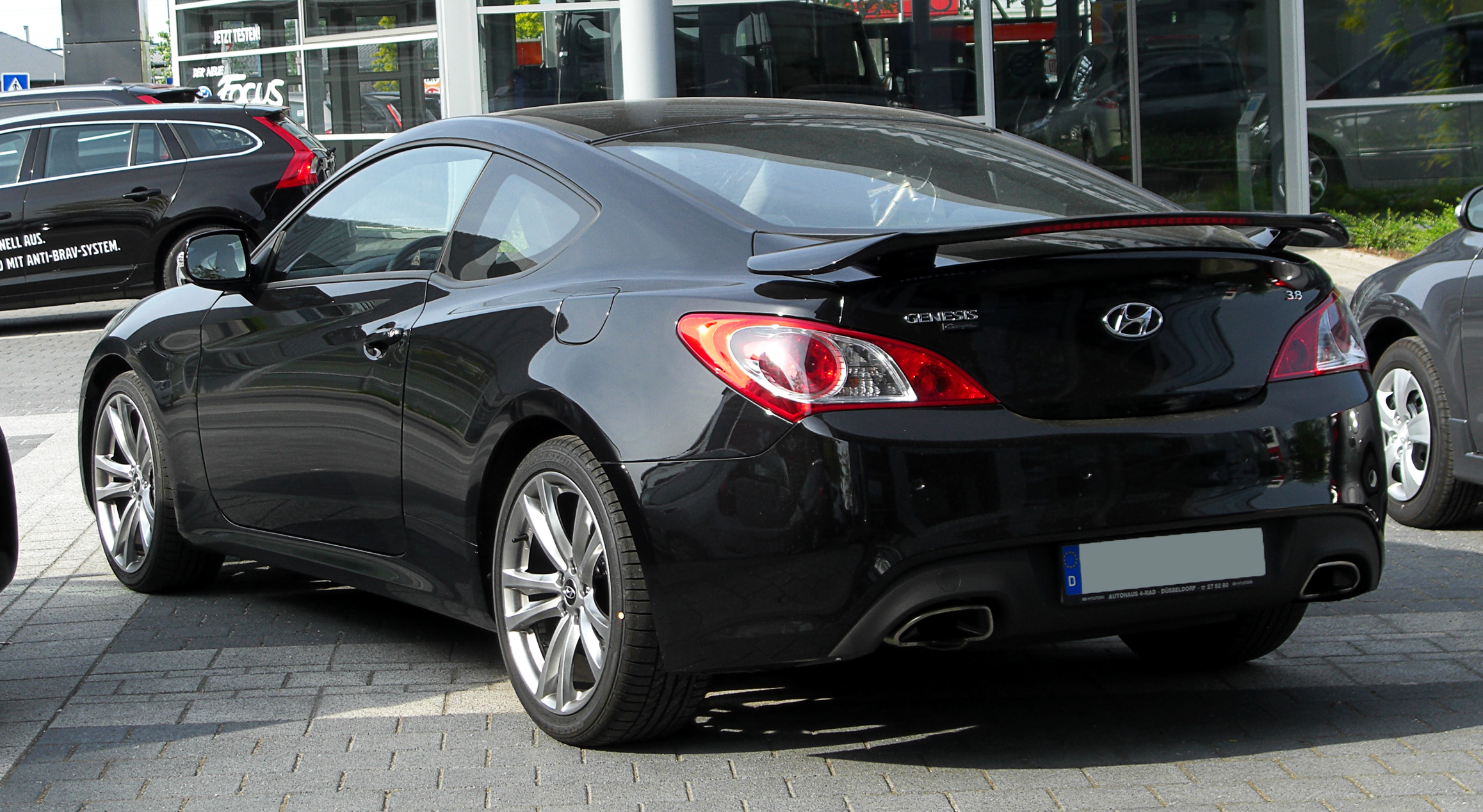 hyundai genesis coup 3 8 v6 heckansicht 7 mai 2011 d wikipedia. Black Bedroom Furniture Sets. Home Design Ideas