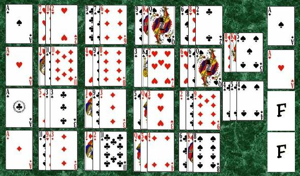 spider solitaire how to play with 2 decks different
