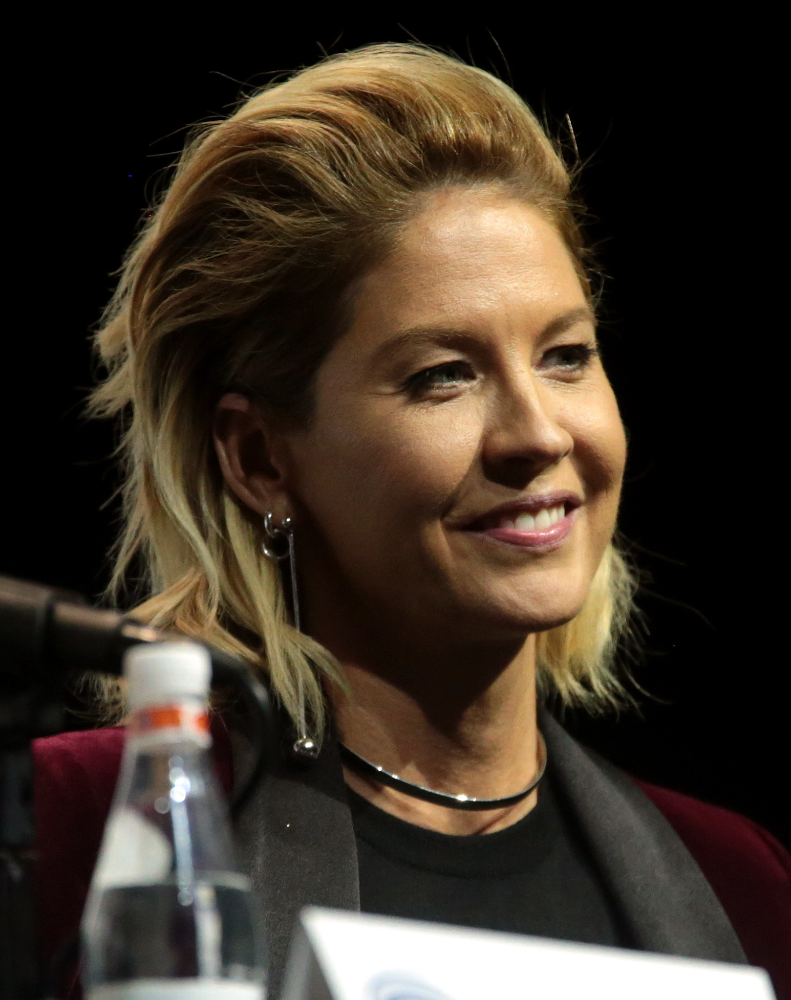 The 47-year old daughter of father Richard Wayne Butala and mother Sue Grace Butala Jenna Elfman in 2018 photo. Jenna Elfman earned a  million dollar salary - leaving the net worth at 16 million in 2018