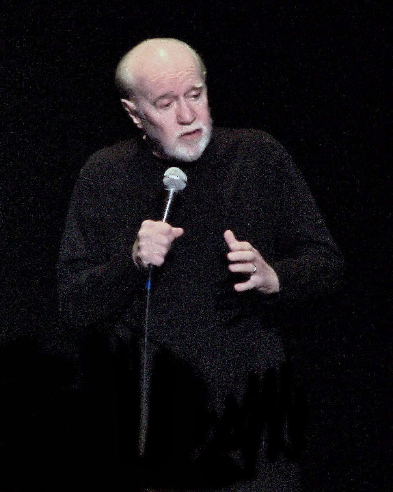 Portrait of George Carlin