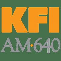 KFI Radio station in Los Angeles, California